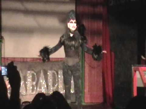 Nina Flowers At Club TRAZ