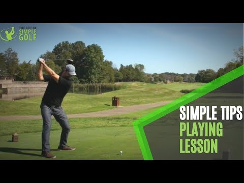 Simple Golf Tips – On The Course From Tee To Green