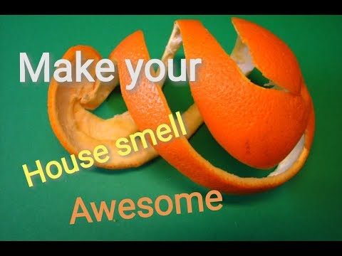 2 TIPS  To Make Your House Smell Awesome / DIY AIR FRESHENER