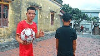 PHD | Trận Chiến Gay Cấn Giữa Hai Anh Em | Football Challenges