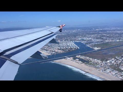 Virgin America HD 60fps: Airbus A320 N630VA on Flight VX412 LAX to JFK 3/12/16