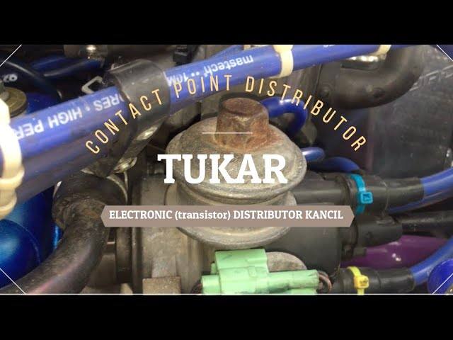 Contact Point To Electronic Distributor Kancil Youtube