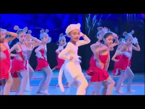 儿童舞蹈《猫鼠之夜》少儿舞蹈