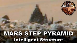 STEP PYRAMID FOUND ON MARS. Intelligent Structure. ArtAlienTV - 720p60