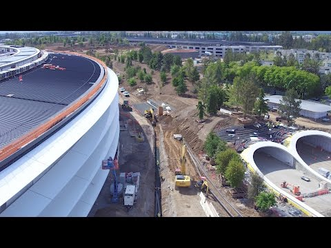 "APPLE PARK: MID-APRIL 2017 ""THE FINISHING TOUCHES"""