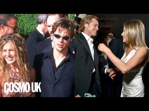 A timeline of Brad Pitt and Jennifer Aniston's relationship history | Cosmopolitan UK