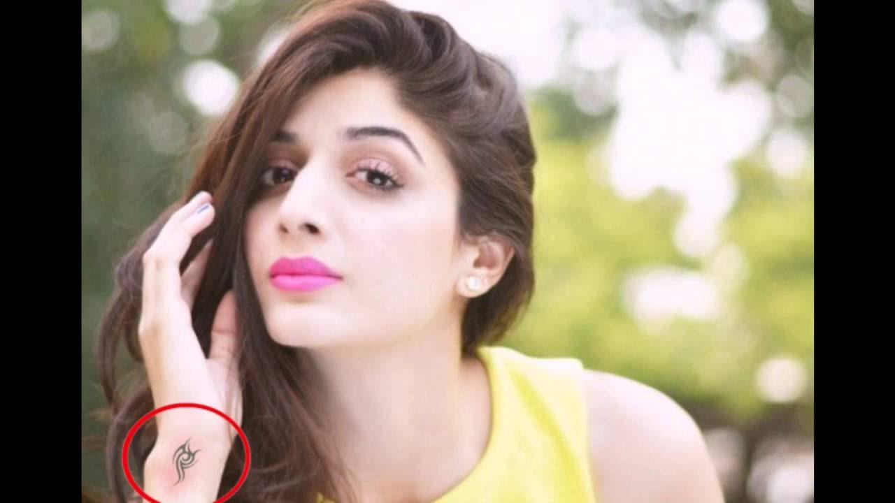 Pakistani Actress Tattoos 2016 Must Watch - Youtube-1790