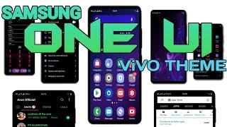 Samsung OneUI Theme for All ViVO Phones (Dark Theme) || By Arun Official ||