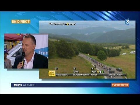 Tour de France : l'édition spéciale du journal de France 3 Alsace