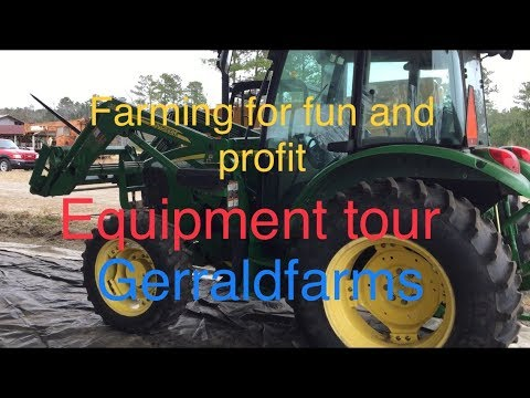 Gerraldfarms On The Road  Farming For Fun And Profit Equipment Tour Part 2