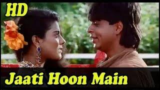 Jaati Hoon Main with Jhankar HD   Karan Arjun 1995