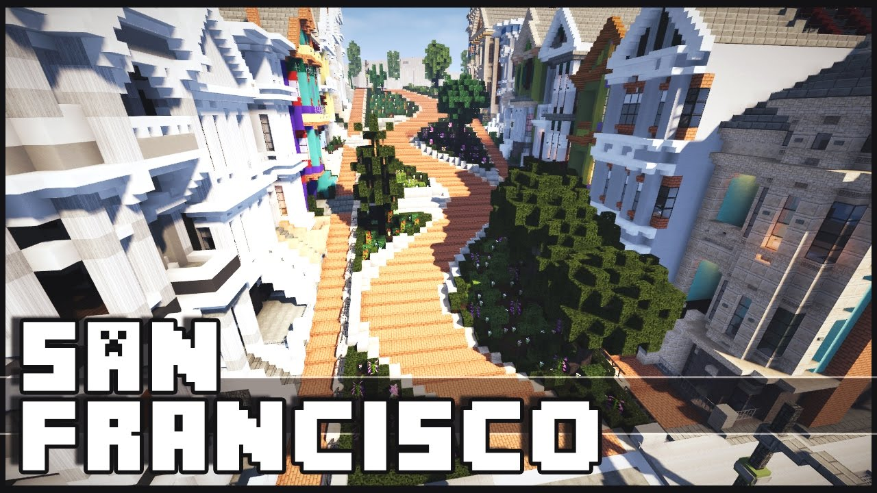 Minecraft San Francisco Amp Epic Construction Site Youtube