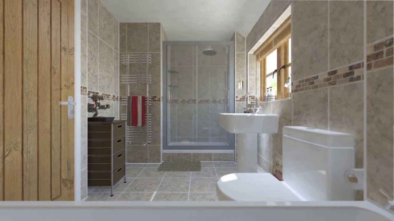 Bathroom 3d visual 3ds max design and mental ray youtube for Bathroom design 3d model
