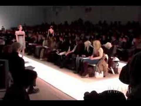 Peter Som Fall Fashion Week