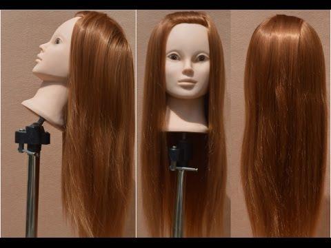 Как выбрать учебную голову. Благодаря содержанию натуральных волос манекены являются идеальным вариантом для создания любых причесок и укладок, с ними можно делать все, что угодно: использовать любой стайлинг (лак, мусс, воск и т. Д. ), укладывать феном, плойкой и утюжком, окрашивать.
