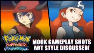 Pokémon Omega Ruby and Alpha Sapphire: Speculation - Conceptualized gameplay screenshots galore! thumbnail