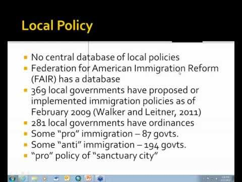 Crossing Into New Territory Suburban Immigration and Local Government Reactions
