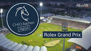 CHIO Aachen digital | RE-LIVE: Rolex Grand Prix | 2019