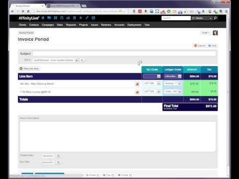 AffinityLive Contracts & Retainers Module Sneak Peek