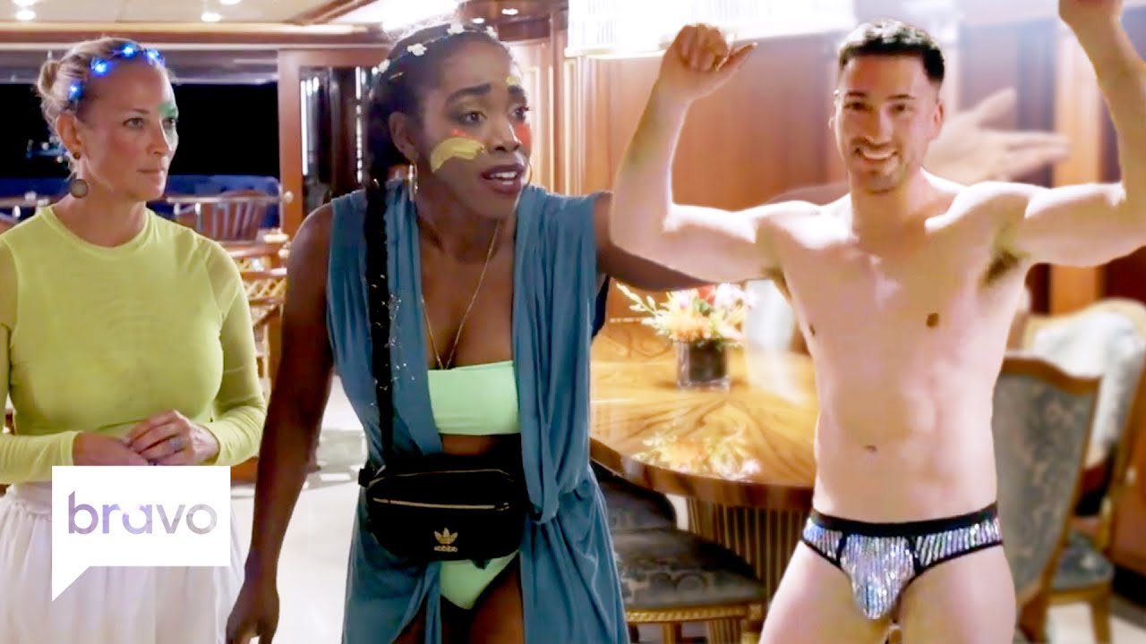 Download Charter Guests Get Into a Fight Over... James Hough? | Below Deck Highlights (S8 Ep2)