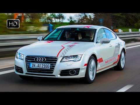 VIDEO: 2016 Audi A7 Self-driving Prototype (Autonomous Driving) Demonstration HD