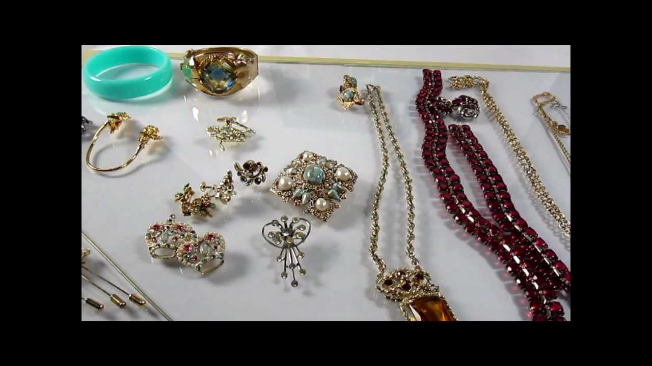 Beginners Guide To Reing Vintage Costume Jewelry On Ebay Part 1 Cherry 2017 You