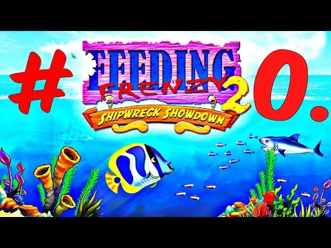 KathyRain Plays - Feeding Frenzy 2 Deluxe Shipwreck Showdown 2016 Pc Gameplay Part #20.