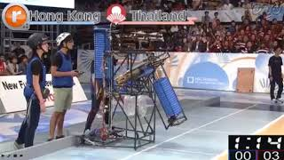 ABU Robocon 2017 Japan League C1 Hongkong vs Thailand