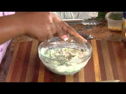 Fresh Chef Salad W/ Homemade Ranch Dressing- Be Creative!