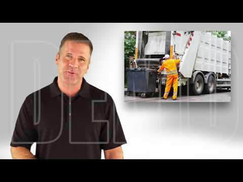 Dumpster Rental Demo Video for Waste Management in Heber City