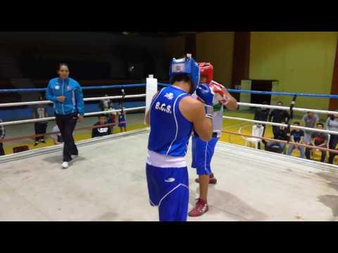 Emilio Valle(Ganador) Vs Santiago Higuera Tato boxeo bcs
