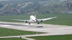 LOT Polish Airlines Boeing 767-300ER SP-LPA approaching EPKK 20.04.09