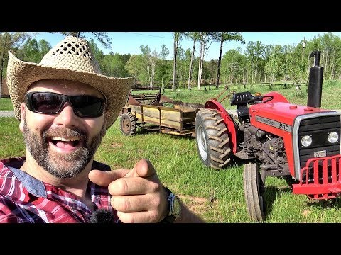 THE DAY MY DRONE WENT INTO THE MANURE SPREADER!! MUST SEE!!