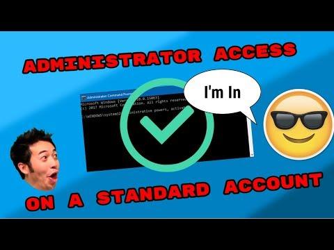 GAIN ADMIN ACCESS FROM A STANDARD ACCOUNT! [Tutorial]