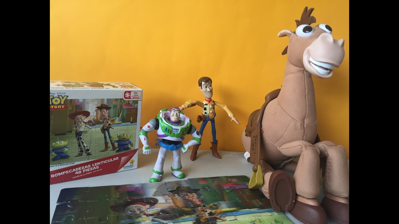 Rompecabezas Toy Story | Toy Story Puzzle Kidsplace Town - YouTube