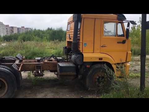 Осмотр лота на торгах по банкротству Седельный тягач КАМАЗ 65116-N3 2011 г.в.