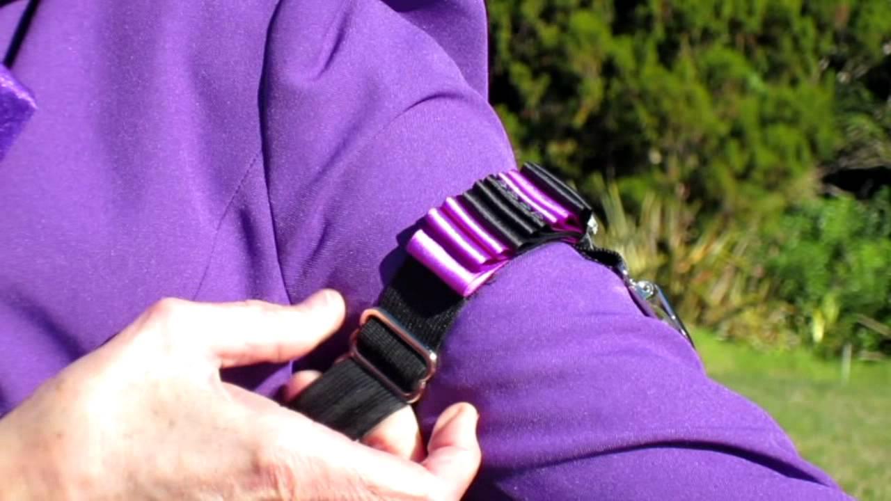 Armband Number Holder