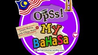 Learn Malay Language with SNR .: LESSON 1 - ALPHABETS :.