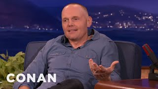 bill burr won t give foul balls to kids conan on tbs