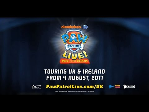 Smyths Toys - Paw Patrol Live! Race To The Rescue Tour