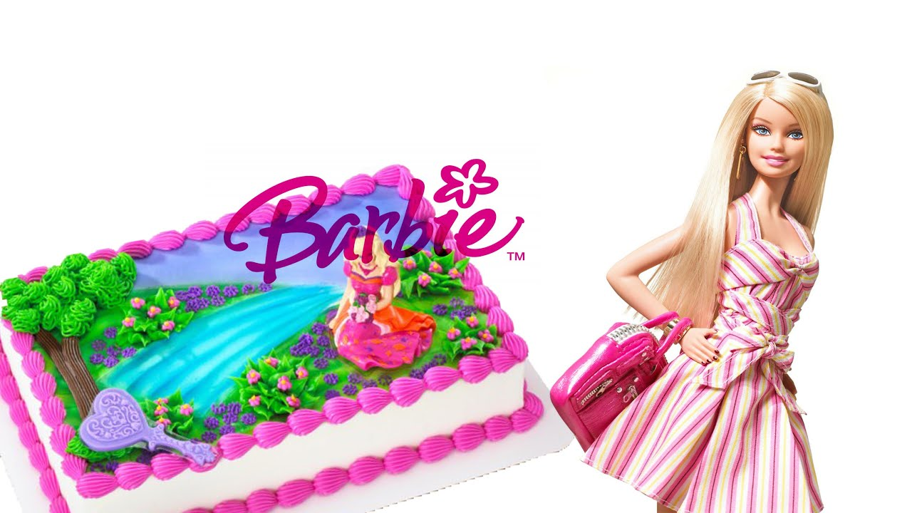 Cartoon Barbie Doll