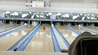 unbelievable bowling  due strike