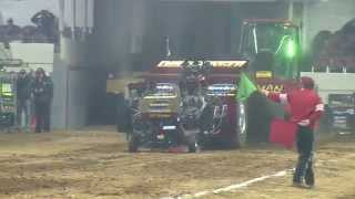 2015 National Farm Machinery Show Tractor Pull - Super Modified Tractors