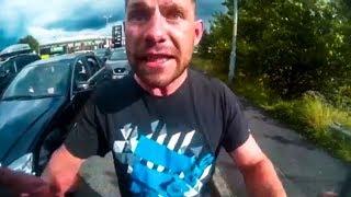 CRAZY MAN vs BIKER    STUPID ANGRY PEOPLE vs BIKERS     [Ep. #109]