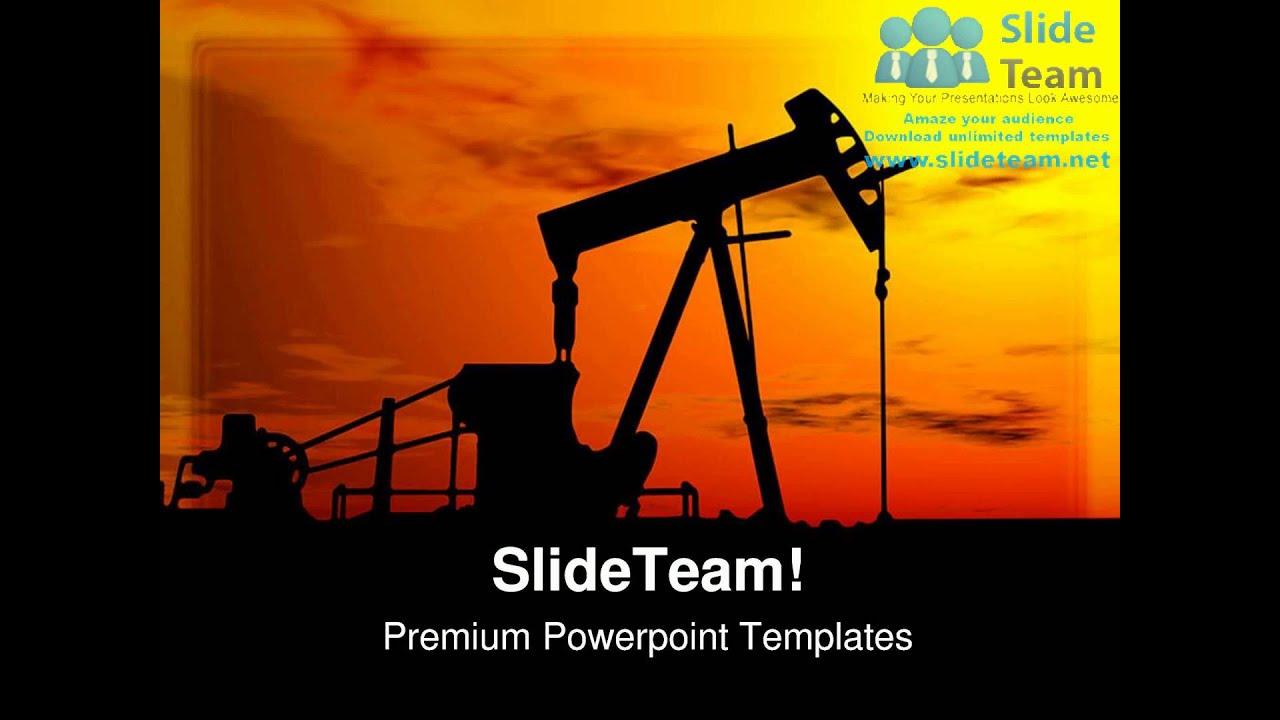 Oil pump machine industrial powerpoint templates themes and oil pump machine industrial powerpoint templates themes and backgrounds ppt layouts youtube toneelgroepblik Images