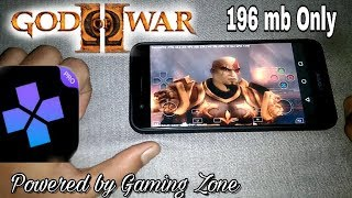 God of War 2 Highly Compressed for android    Damon ps2 pro