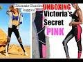 Victoria's Secret Pink Ultimate BONDED Leggins unboxing