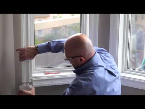 Removing and Installing Vinyl Window Casing - Ecoline Windows