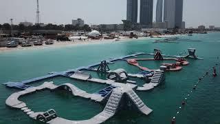 Aqua Fun Park #InAbuDhabi