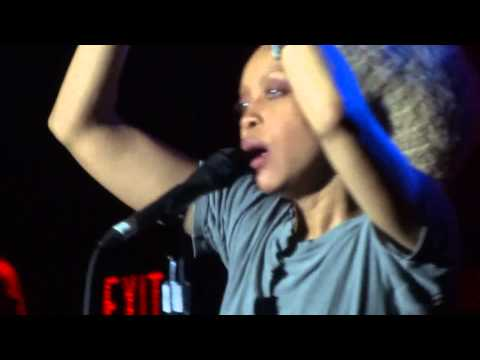 Erykah Badu - Bag Lady - Live from Kool haus Toronto - 3-5-13